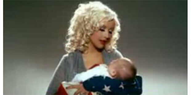 Christina Aguilera als US-Übermutter