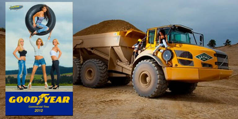 Fotos aus dem Goodyear-Kalender 2012