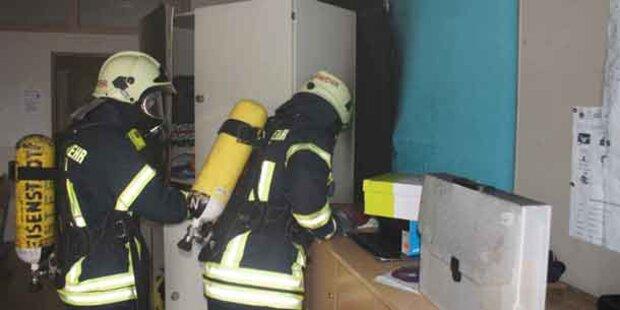 Keine Verletzten bei Brand in Schule