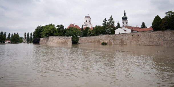Pegelstand Donau Ungarn