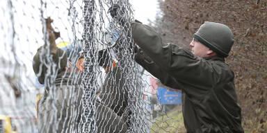 Grenzzaun kostet zehn Millionen Euro