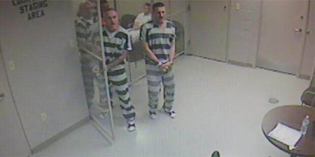 Häftlinge brechen aus um Wärter zu retten