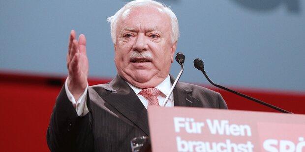 Häupl: Schlacht um Wien eröffnet