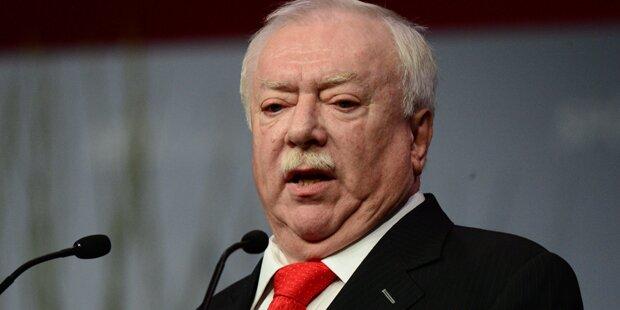 Häupl stellt klar: Rot-Grün bleibt in Wien