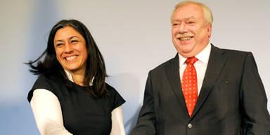 Rot-Grüne Koalition in Wien präsentiert