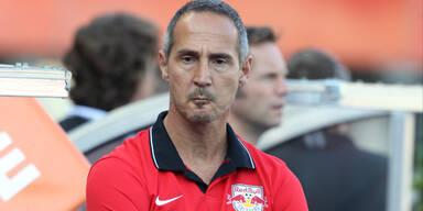 Adi Hütter Red Bull Salzburg