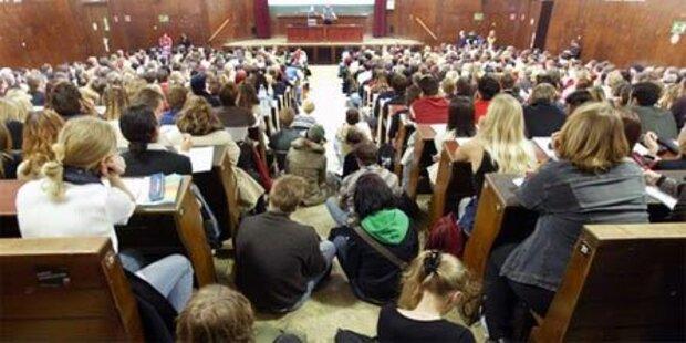Weniger Studenten an der Uni Salzburg
