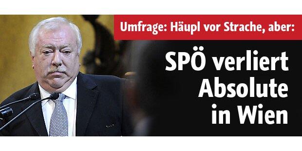 SPÖ verliert absolute Mehrheit in Wien