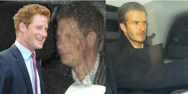Prinz Harry: Party mit Beckham