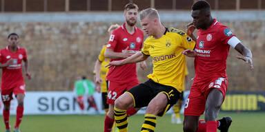 So lief das Haaland-Debüt bei Dortmund