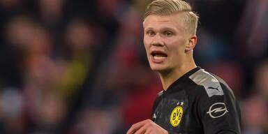 Haalands nächster Streich - Doppelpack bei 5:1 gegen Köln