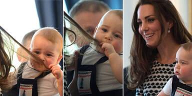 Herzogin Kate und Baby George