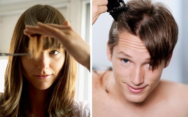 Haare selber schneiden: So klappt es mit der DIY-Frisur