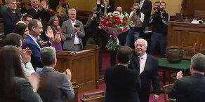 Häupl übergibt Bürgermeisteramt an Ludwig