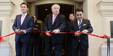 Häupl eröffnet Luxus-Hotel in Wien