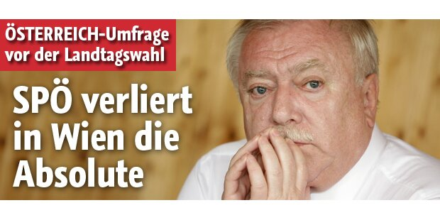 SPÖ verliert in Wien absolute Mehrheit