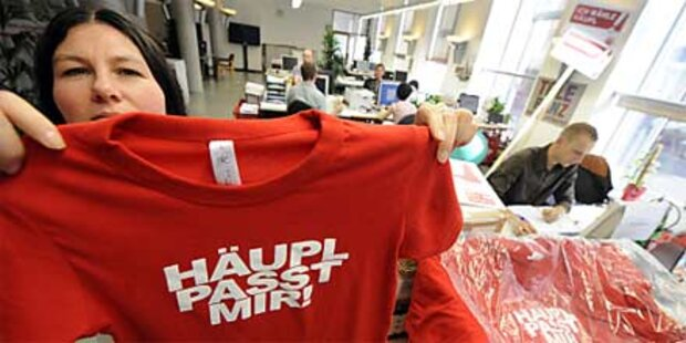 Wiener SPÖ bezog neue Wahlkampfzentrale