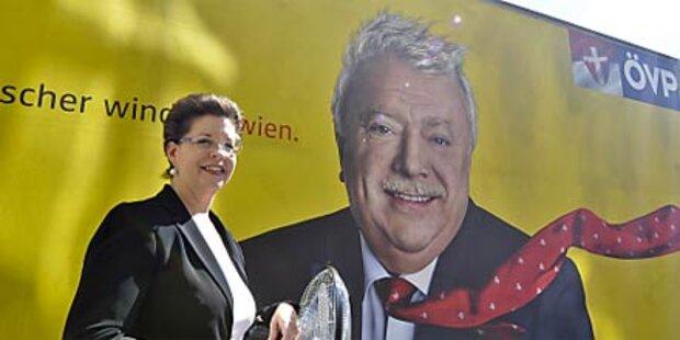 Häupl ist dankbar fürs ÖVP-Plakat