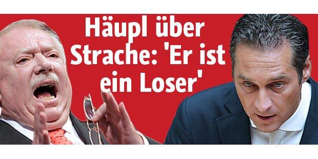 Häupl über Strache:
