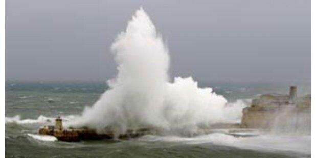 Sturm legte Fährverkehr in Ägäis lahm