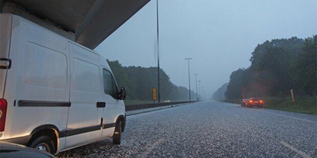 Jetzt kommt der Wetter-Crash