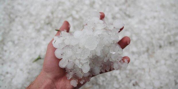 Unwetter-Gefahr in Österreich