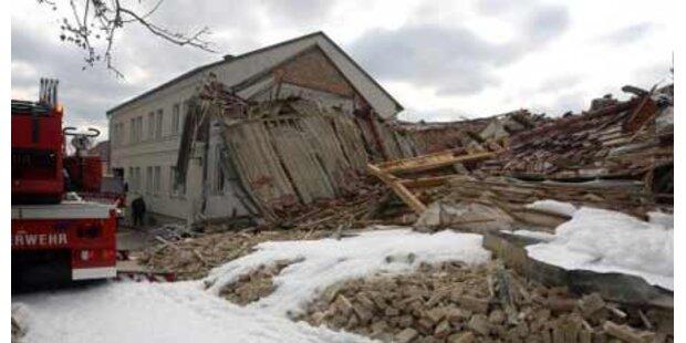 Lecke Gasleitung schuld an Hausexplosion