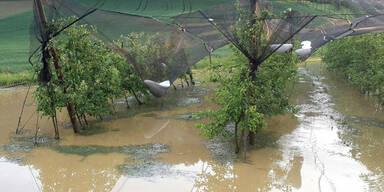 Schwere Hagelschäden in der Steiermark