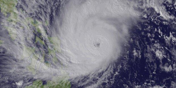 600.000 auf der Flucht vor Taifun