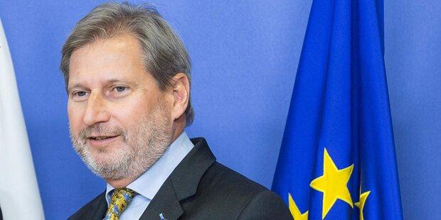 Ministerrat nominiert einstimmig Hahn als EU-Kommissar