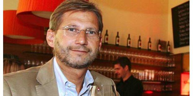 Hahn ist Prölls Favorit als EU-Kommissar