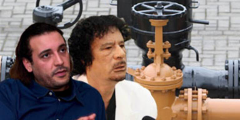 Gaddafi dreht der Schweiz das Öl ab