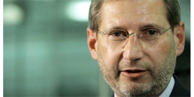 Hahn hält an EU-Zukunftsressort fest