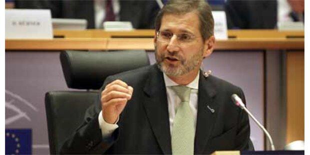 Hahn nimmt Hürde im Europaparlament