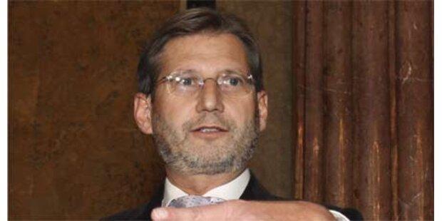 Hahn wird EU-Umwelt-Kommissar