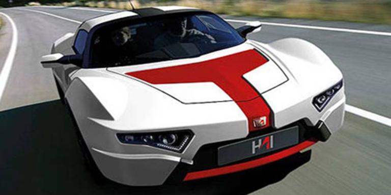 Der E-Roadster Hai E3 wurde ausschließlich in Österreich entwickelt. Bild: Hersteller