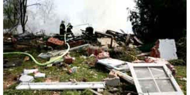Wohnhaus in OÖ explodiert - keine Verletzten
