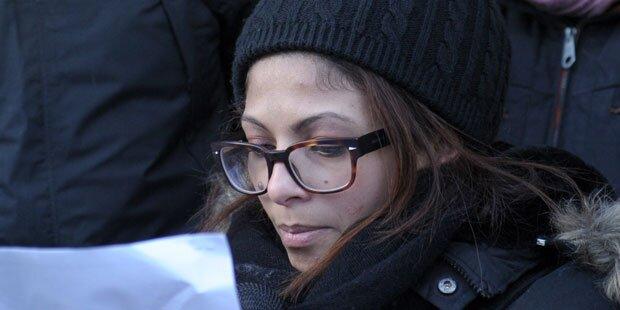 Badawis Frau für Aus des Saudi-Zentrums