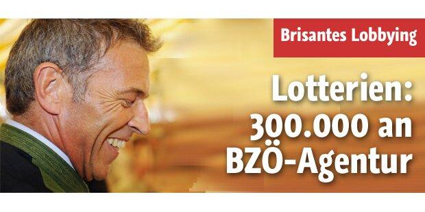 Lotterien: 300.000 an BZÖ-Agentur