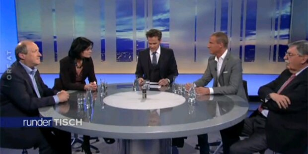 Wilder Streit bei Haider-Diskussion im ORF
