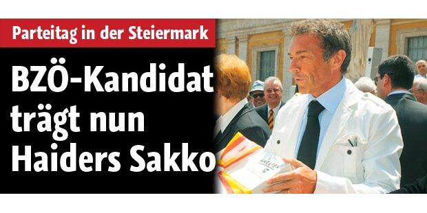 BZÖ-Kandidat trägt Haiders Sakko