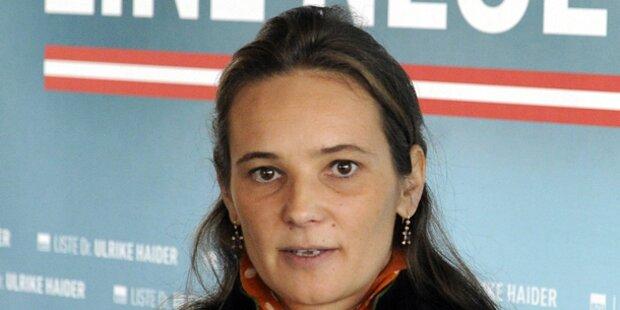 Haider zur BZÖ-Spitzenkandidatin gewählt