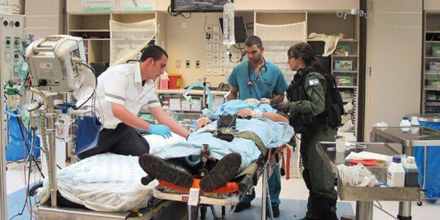Hier wird unser Syrien-Held operiert