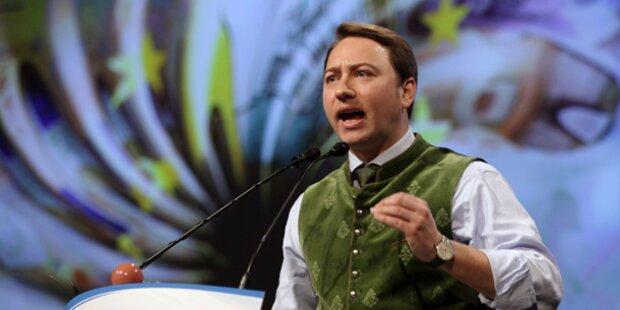 Haimbuchner wieder FPÖ-Landeschef