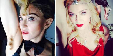 Sind Madonnas Achselhaare ein Fake?