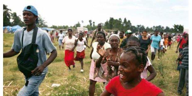 Österreicher spenden 10 Mio. für Haiti