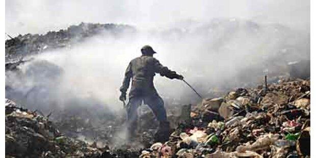 Überlebender unter Trümmern gefunden