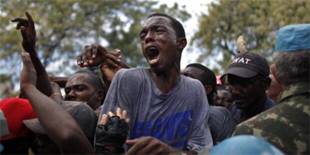 Gewaltsame Proteste nach Wahl in Haiti