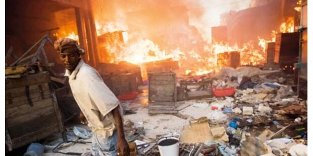 Haiti: 180.000 Tote und 7 Mrd. € Schaden