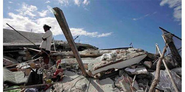 Überleben unter Trümmern nur wenige Tage